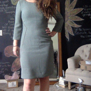 Antonio Melani Green Tweed Dress
